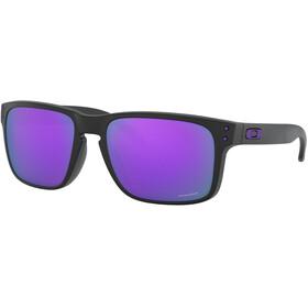 Oakley Holbrook Okulary przeciwsłoneczne Mężczyźni, matte black/prizm violet